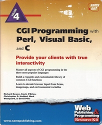 CGI Programming with Perl, Visual Basic, and C